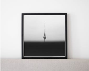 Grain // Poster, Photography, Berlin, Classic, Skyline, Urban, City, Image, Picture, Print, Wall Decor, Home Decor, Mood, Unique, Cityscape