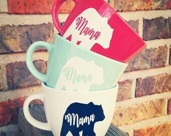 Mama Bear Coffee Mug - Momma Bear Mug - Mom Life Coffee Mug - Mothers Day Gift - Valentines Day Gift - New Mom Gift - Coffee Lover -Birthday