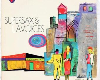 Supersax & L.A. Voices - 1983 - Vinyl - FC 39140
