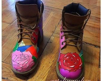I love Roses custom timbs