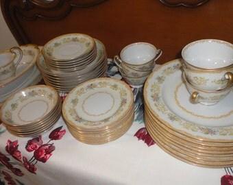 Noritake Royal China Dinner Plates Set Of 7