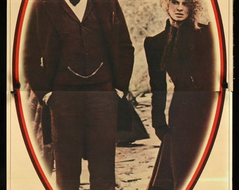 """McCabe & Mrs. Miller (1971) Japanese Tatekan Movie Poster - 20""""x 57"""""""