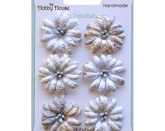 Boutique Paper Flowers - Daisies Blue