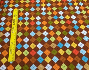 Re-Mix Cotton Flannel-Wild from Robert Kaufman