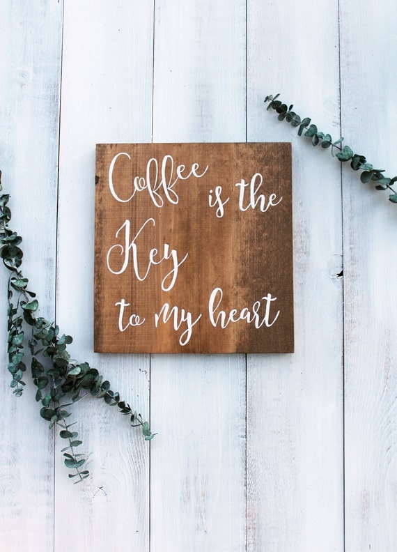 Coffee Signs, Kitchen Decor, Coffee Bar Sign, Wood Coffee Sign, Wooden Coffee Sign, Farmhouse Kitchen Sign, Wood Signs, But First Coffee