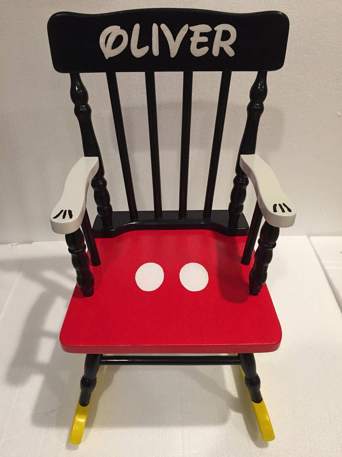 Mickey Mouse Rocking Chair Mickey Mouse Kids Disney Chair