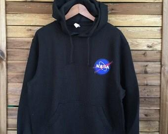 Sudadera NASA MahaloVintageStore Sweatshirt NASA USA Handmade
