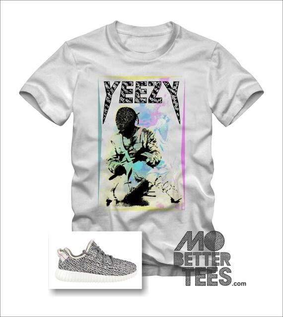 Air Yeezy Turtle Dove Diamond Mask Graphic T-Shirt Kanye Yeezus