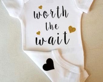 Newborn Bodysuit - Worth the Wait Bodysuit