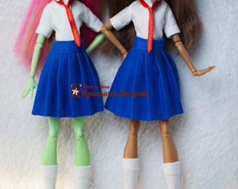 Monster High clothes - Monster High outfits - EAH outfits - Japanese uniform - School uniform