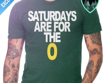 Official Saturdays are for the O Shirt, University of Oregon Football Shirt, Oregon Ducks Shirt, Saturdays for the Quack, Oregon Ducks Gift