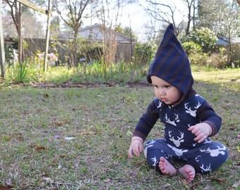 Pixie Hat, Baby Pointed Hat, Elf Hat, Toddler Hat