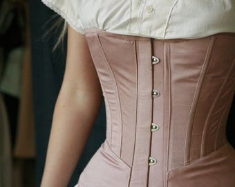 1890s Corset, Victorian Corset