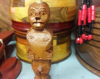 Yorura/IFA,muneco de madera,Eleggua,palo,brujeria,madera,cedro