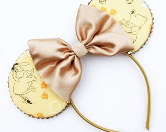 The Silly Old Bear - Disney Winnie The Pooh Inspired Mouse Ears Headband
