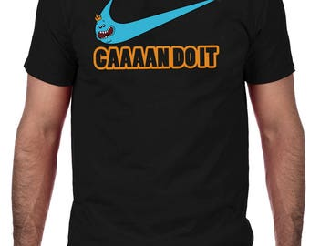 Mr Meeseeks T-Shirt, Rick & Morty Comedy T-Shirt Caaaaan DO!