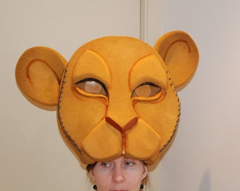 Nala Headdress, Sarabi, The Lion King musical, Adult Nala