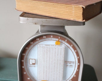Vintage Postal Scale, Vintage Scale, Antique Scale