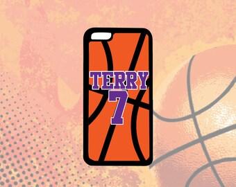 Basketball Phone Case, iPhone 5/5s, iPhone 5c, iPhone 6/6s, iPhone 6+/6s+, iPhone 7/7s, Samsung S4, S5, S6, Note 3, Note 4, Note 5