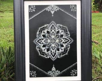 Mandala ArtWork in Black and White