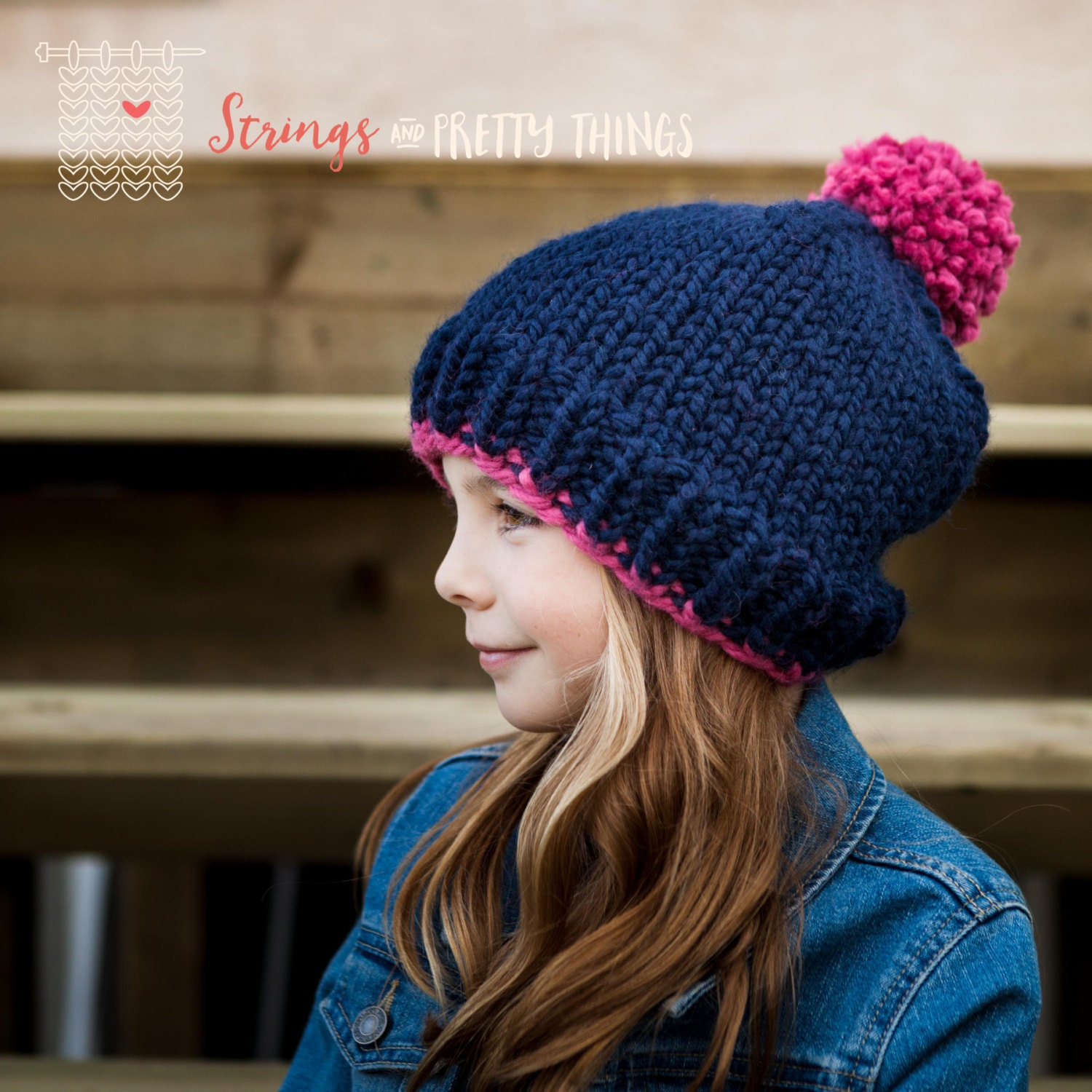 63efcc07f78 Chunky Knit Slouch Hat - Ready to Ship