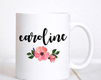 Name Mug / Custom Name Mug / Personalized Mug / Custom Gifts / Custom Mug / Gift for Friend / Personalized Gift / Monogram Mug