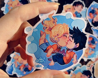 Percy Jackson/Annabeth Chase Percabeth Sticker Pack