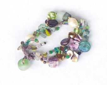 SIMONE bracelet PURPLE RAIN