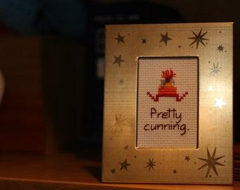 Cunning Hat Cross Stitch pattern - Instant Download