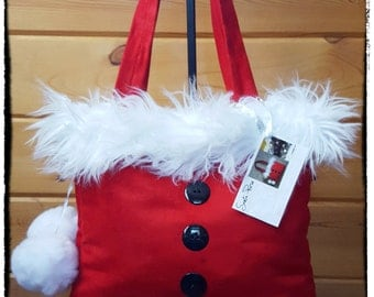 Handmade Santa Purse