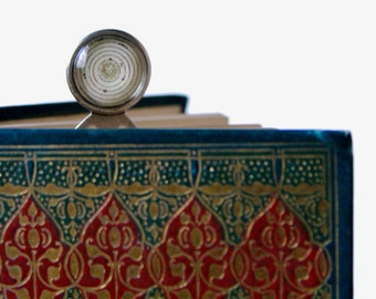 Handmade Brass Bookmark, Sun, Solar System