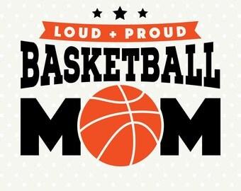 Basketball SVG, Basketball Mom file, Basketball Shirt svg, Commercial cut file, DXF cutting file, Vinyl svg file, Sport SVG