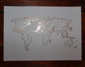 Foil print: Wanderlust