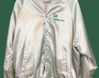 Vintage Satin Matlack Jacket