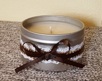 8 oz Blue Spruce Tin Candle