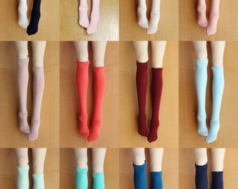 BJD Doll clothes ,SD MSD Minifee socks, Knee socks,knee-high stockings ,13 colors