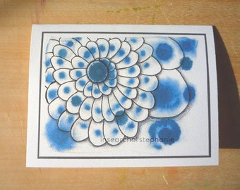 All Occasion Greeting Card - Blue Shell