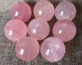 Best Rose Quartz Crystal Sphere,Hand Carved Rose Crystal Ball(Size:20mm,30mm,40mm,50mm,60mm,70mm,80mm,90mm,100mm,Custom Size)