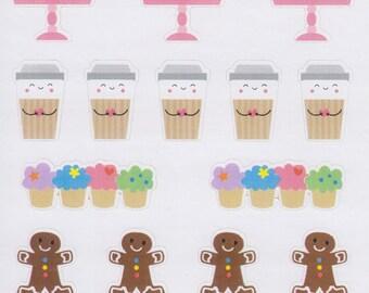 Morning Tea | 616 | Planner Sticker | Kikki-K | Happy Planner | Erin Condren