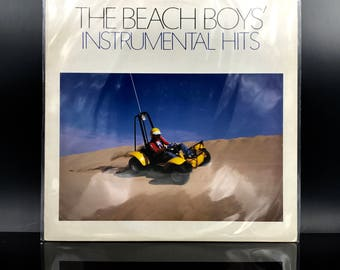 BEACH BOYS VINYL - Instrumental Hits - Japanese Release Vinyl Record - Collectible Very Rare Lp From Japan - Great Gift!