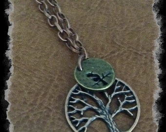 Bird in a Tree Necklace