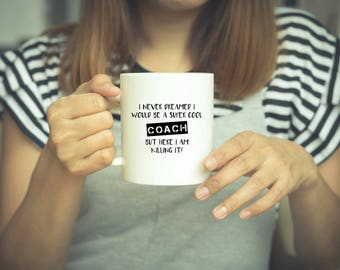 coach mug coach gift coffee mug coach coach gifts coaches gift - Coffee Mug Design Ideas