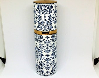 Guerlain Perfume Bottle 1968 Rare Vintage France Vanity Collectible 6 1/2 inch tall 1 3/4 around