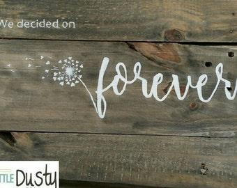 We Decided On Forever Wedding Invitation And Rsvp Modern