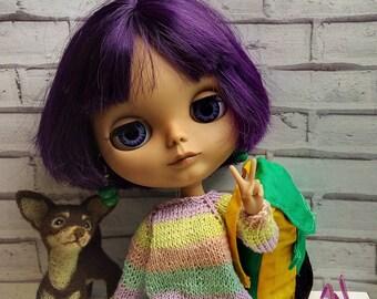 OOAK Custom Blythe doll - Sandra (#09)