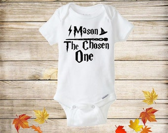 The Chosen One Baby Bodysuit, Harry Potter Inspired Onesie, Baby Shower Gift, Funny Baby Bodysuit, Harry Potter Bodysuit, Harry potter Baby