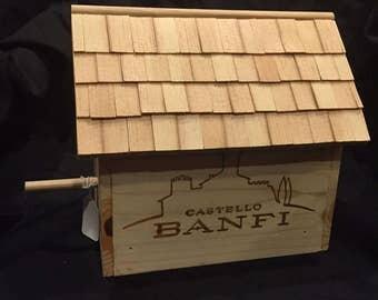 Castello Banfi Decorative Bird House