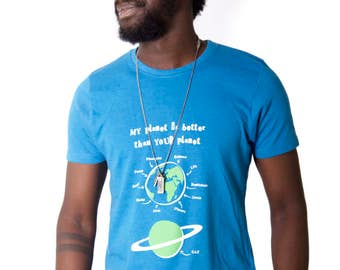 Organic cotton - 100% recycled t-shirt - My planet