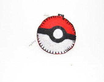 Pokemon 3d  Felt Keychain