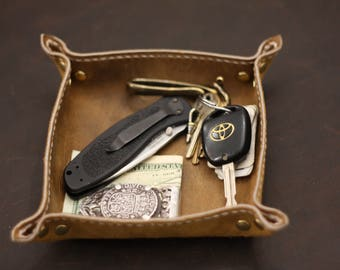 Leather Full Grain Key Caddy pick one or all !!!
